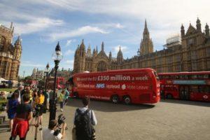 NHS slogan on bus